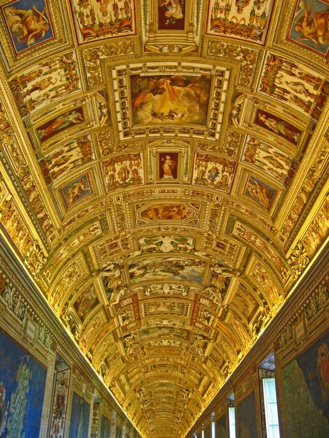 Chapelle de Sistine photographie stock