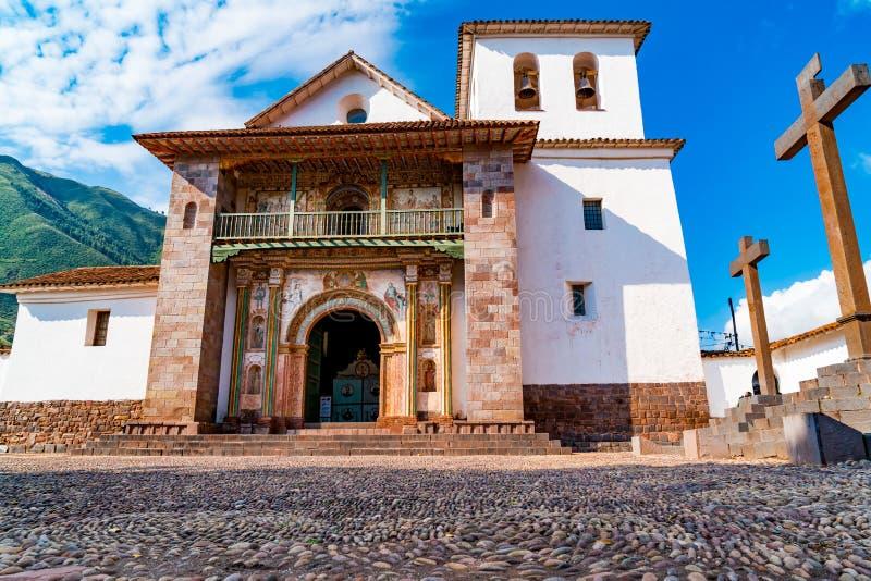 Chapelle de Sistine d'Américain dans Andahuaylillas photos stock