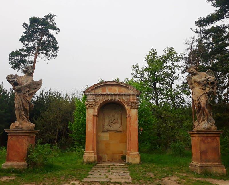 Chapelle de St Vaclav, République Tchèque images stock