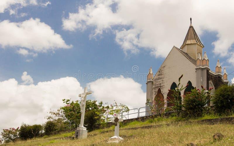 Download Chapelle Du Calvaire,堡垒de法国,马提尼克岛海岛 库存图片 - 图片 包括有 教会, 马提尼克岛: 72353883