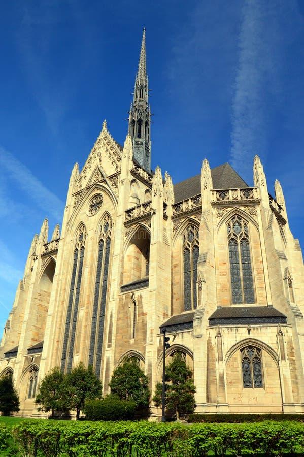 Chapelle du mémorial de Heinz, Université de Pittsburgh photos stock