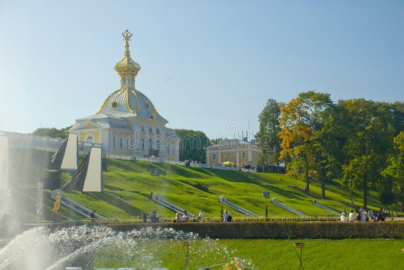 Chapelle du Peterhof images libres de droits
