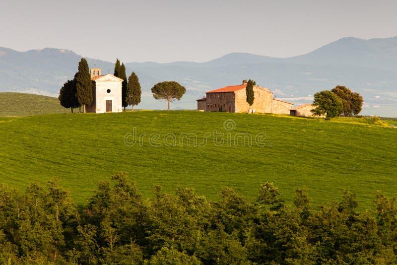 Chapelle en Toscane image libre de droits