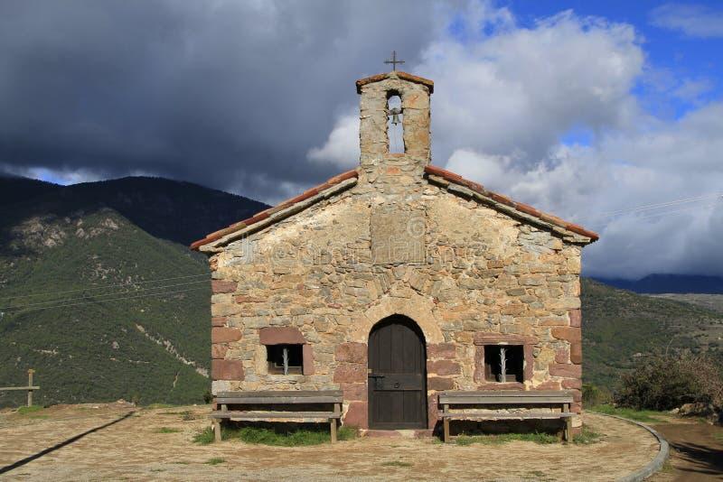 Chapelle - Ermita del Roser photo stock
