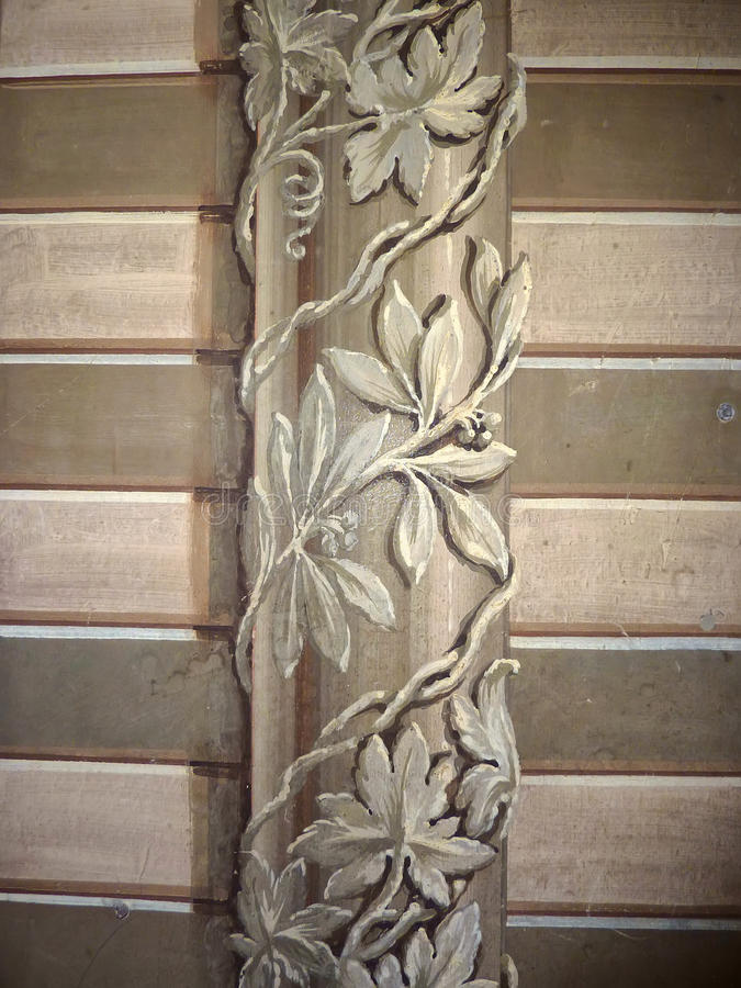 Chapelle italienne les Orcades de peinture de mur image stock