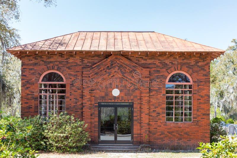 Chapelle juive dans Bonaventure Cemetery historique photos stock