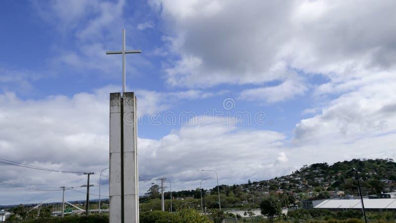 Chapelle ou pompes funèbres religieuse pour des funérailles photographie stock