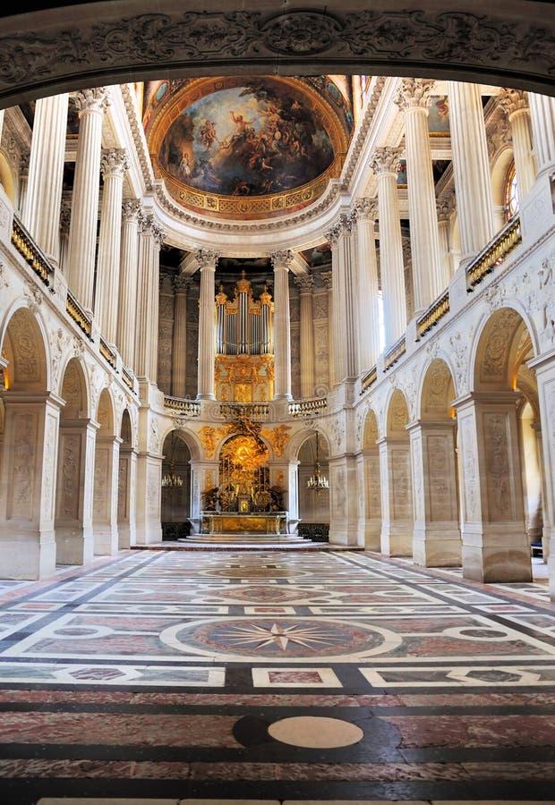 Chapelle royale de Versailles images libres de droits