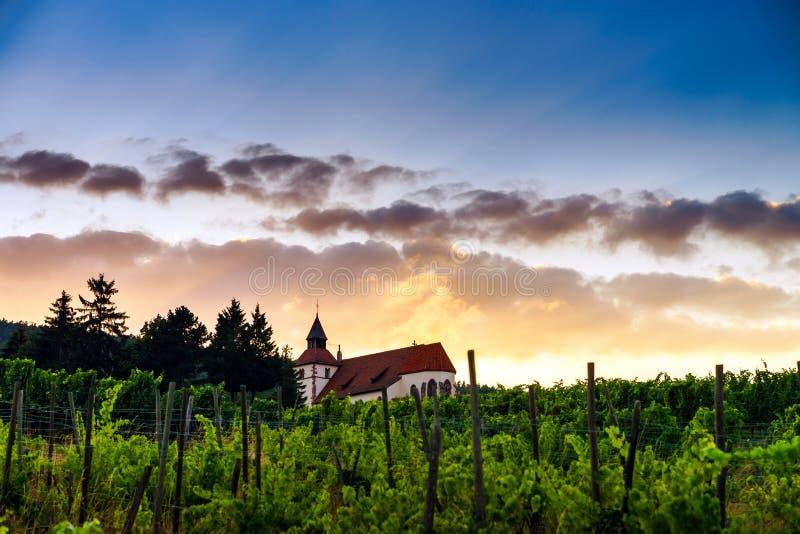 Chapelle Saint-Sebastien DE Dambach-la-Ville, de Elzas royalty-vrije stock foto