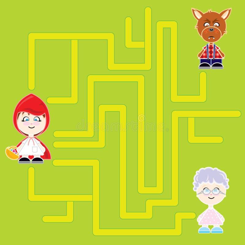 chapeuzinho lab royalty ilustracja
