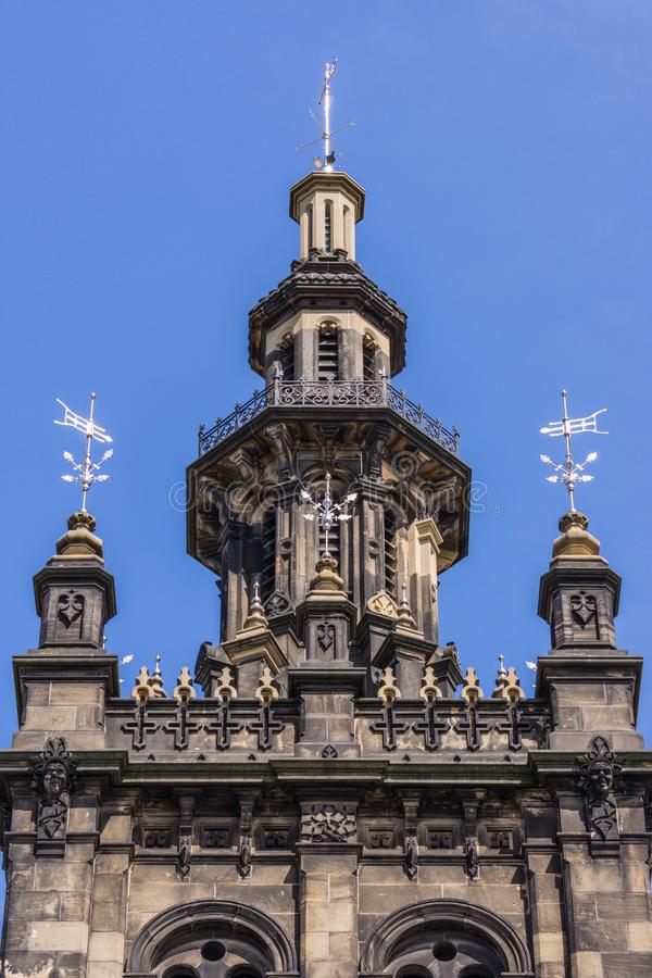 Chapitel de Augustine United Church, Edimburgo, Escocia, Reino Unido foto de archivo libre de regalías