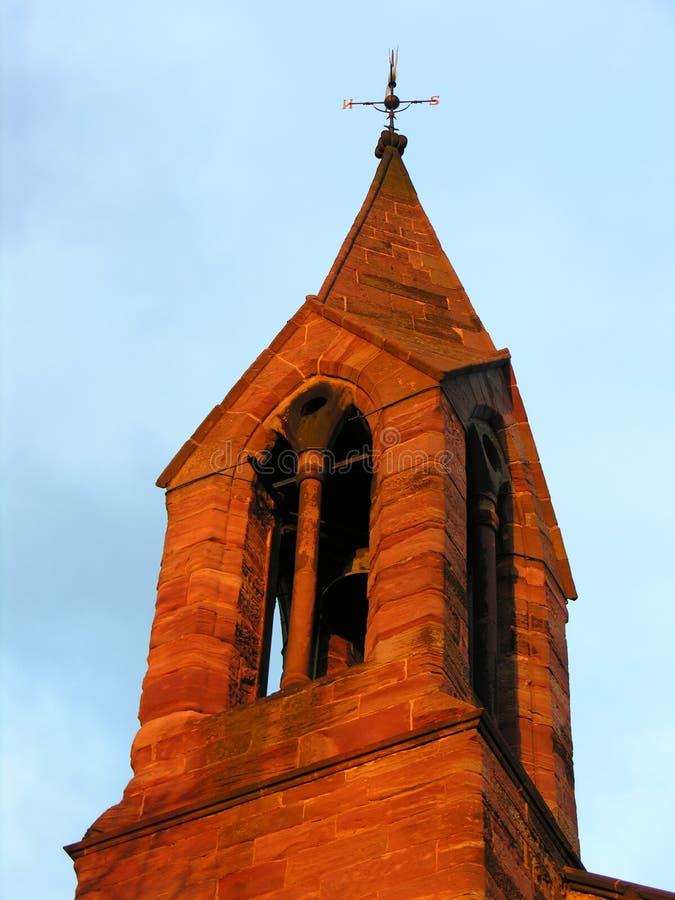 Chapitel de la iglesia imagen de archivo libre de regalías