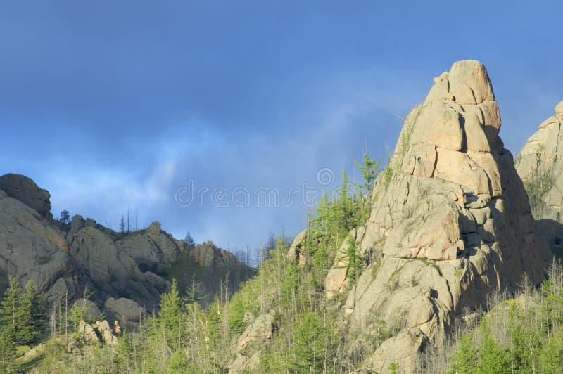 Chapitel de la roca imagen de archivo libre de regalías