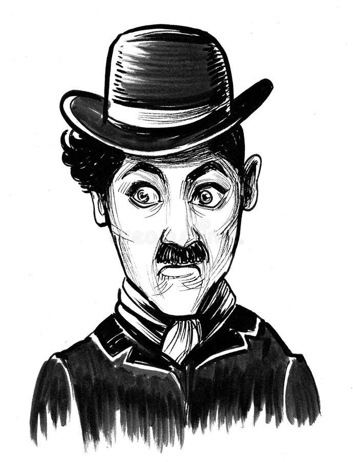 chaplin Чарли бесплатная иллюстрация