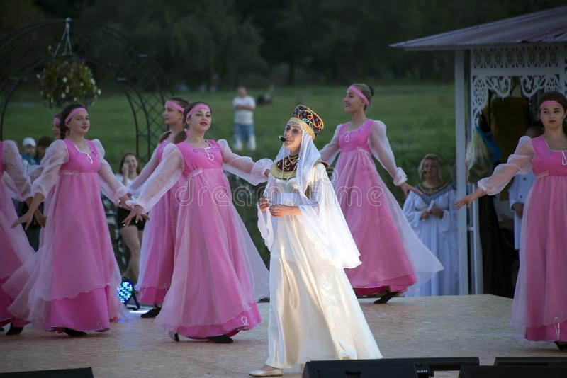 chaplygin,利佩茨克州地区, 2018 7月27日,年 俄罗斯的洗礼的庆祝.图片