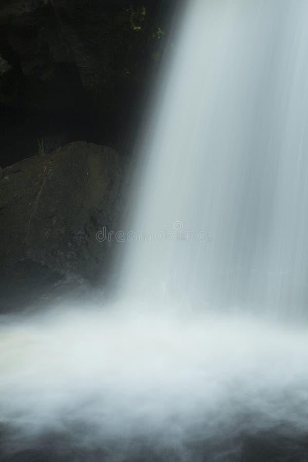 Chapman Falls, Eightmile River in Devil's Hopyard State Park,Con stock photos
