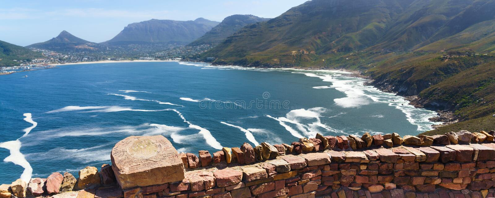 Chapman`s Peak in Cape Town, South Africa. Chapman`s Peak in Cape Town, South Africa stock image