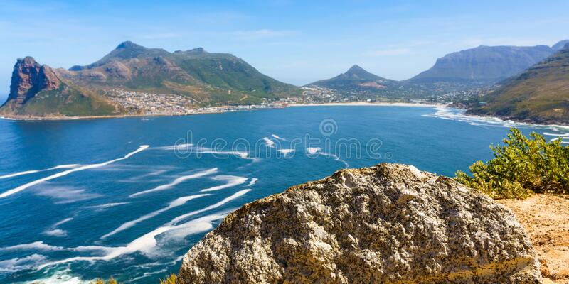 Chapman`s Peak in Cape Town, South Africa. Chapman`s Peak in Cape Town, South Africa royalty free stock images