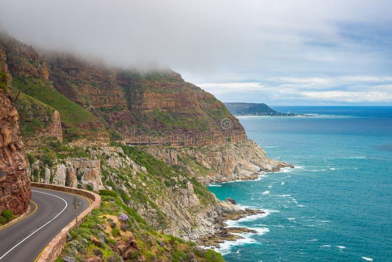 Chapman& x27; s-Spitzen-Antrieb, Cape Town, Südafrika lizenzfreie stockfotos