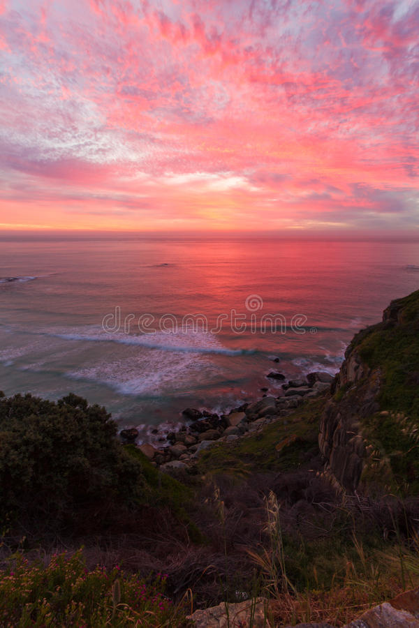 Chapmans-Spitzen-Sonnenuntergang lizenzfreies stockfoto