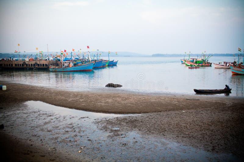 Chapora port royalty free stock photo