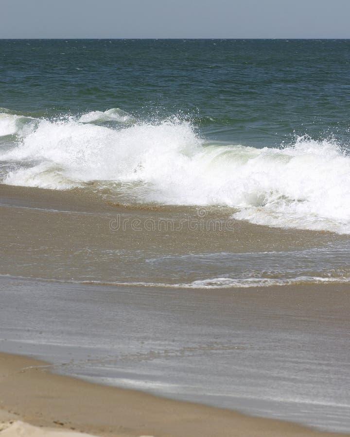 Chapoteo de la onda foto de archivo libre de regalías
