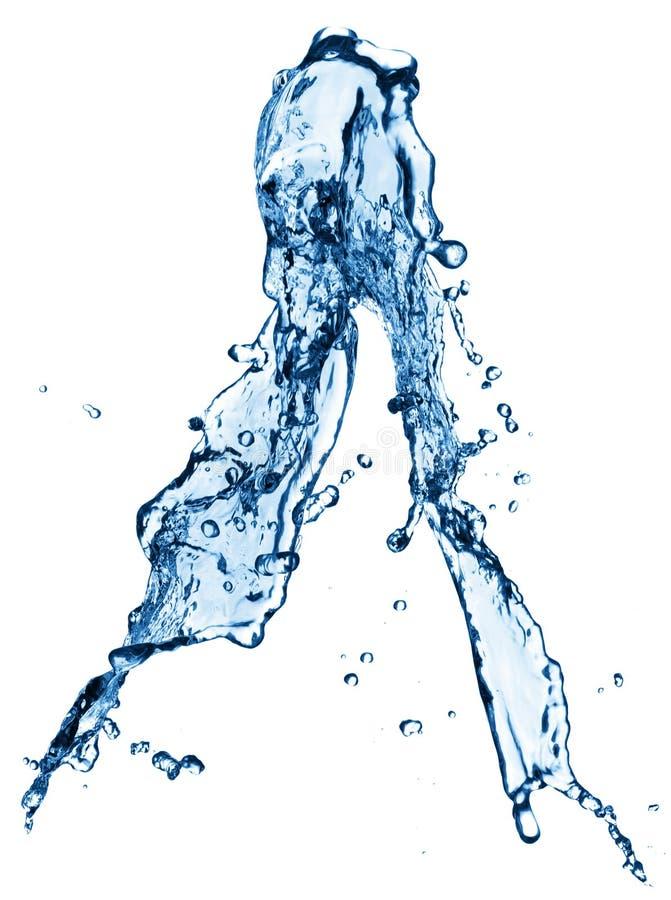 Chapoteo del agua foto de archivo libre de regalías