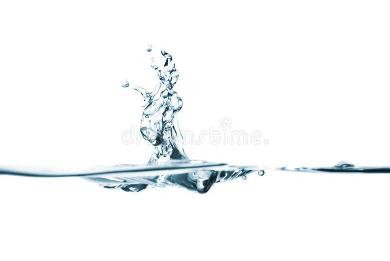 Chapoteo del agua foto de archivo