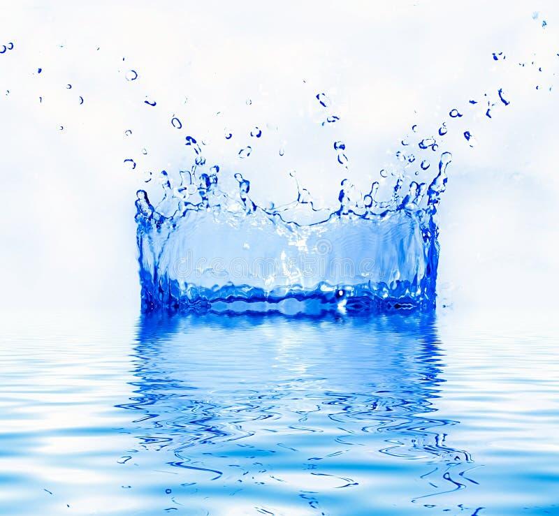 Chapoteo del agua dulce fotografía de archivo libre de regalías