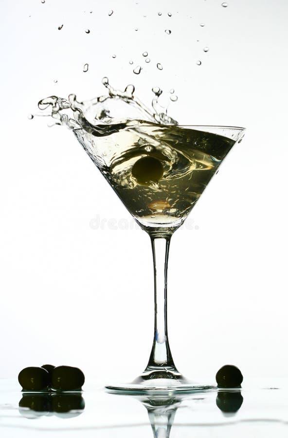 Chapoteo del alcohol imagen de archivo libre de regalías