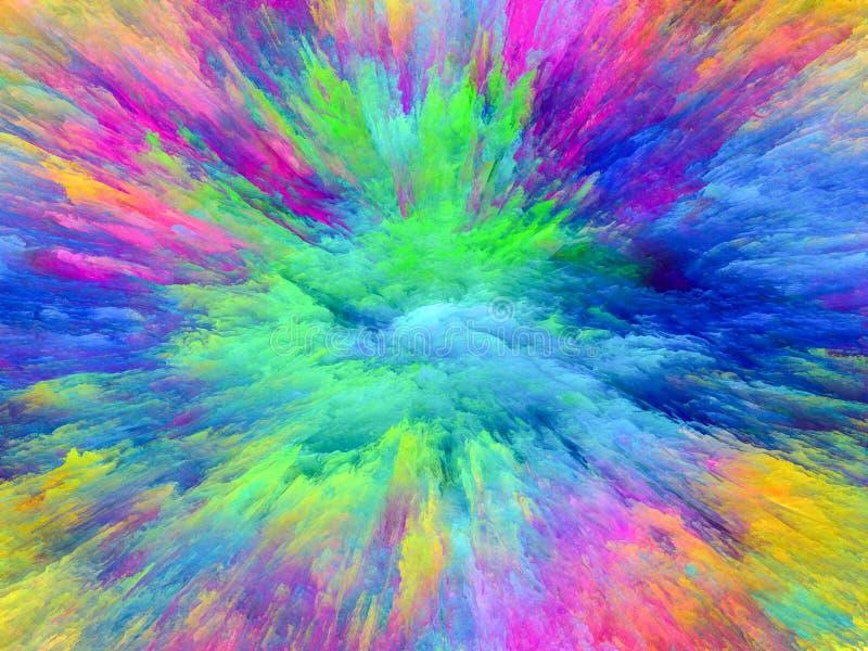 Chapoteo del color imagen de archivo