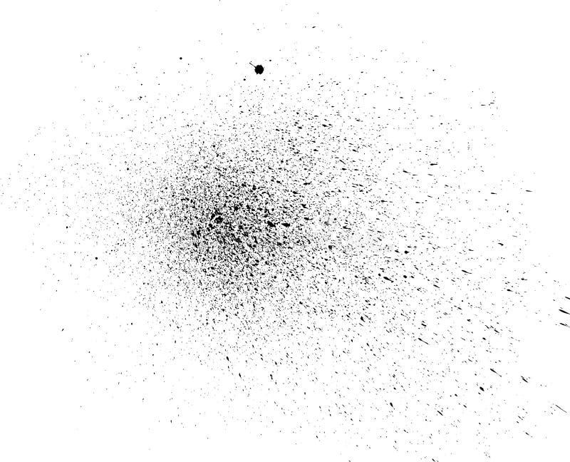 Chapoteo del vector imagen de archivo libre de regalías