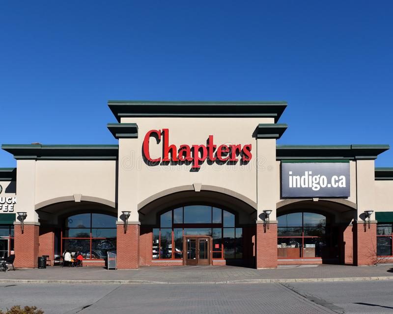 Chapters store in Kanata, Canada royalty free stock images