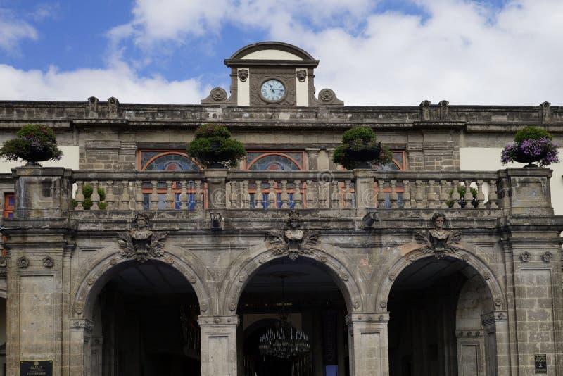 Chapultepec Castle Castillo de Chapultepec Città del Messico, Messico fotografie stock libere da diritti