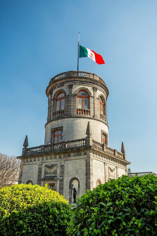 Chapultepec castle, Mexico City stock photography