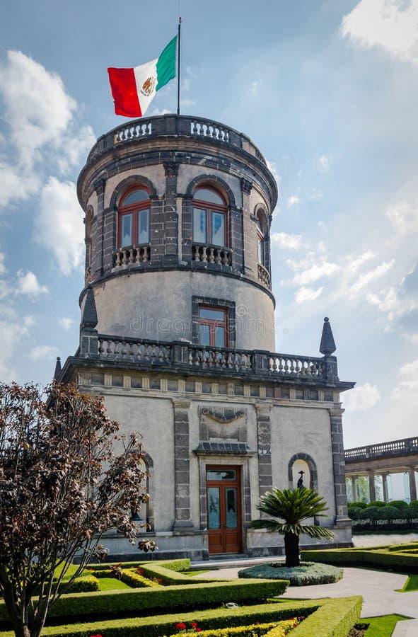 Chapultepec castle tower - Mexico city, Mexico stock photos