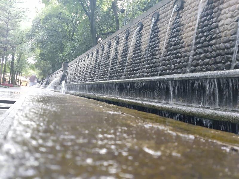 Chapultepec México lasowy miasto zdjęcie stock