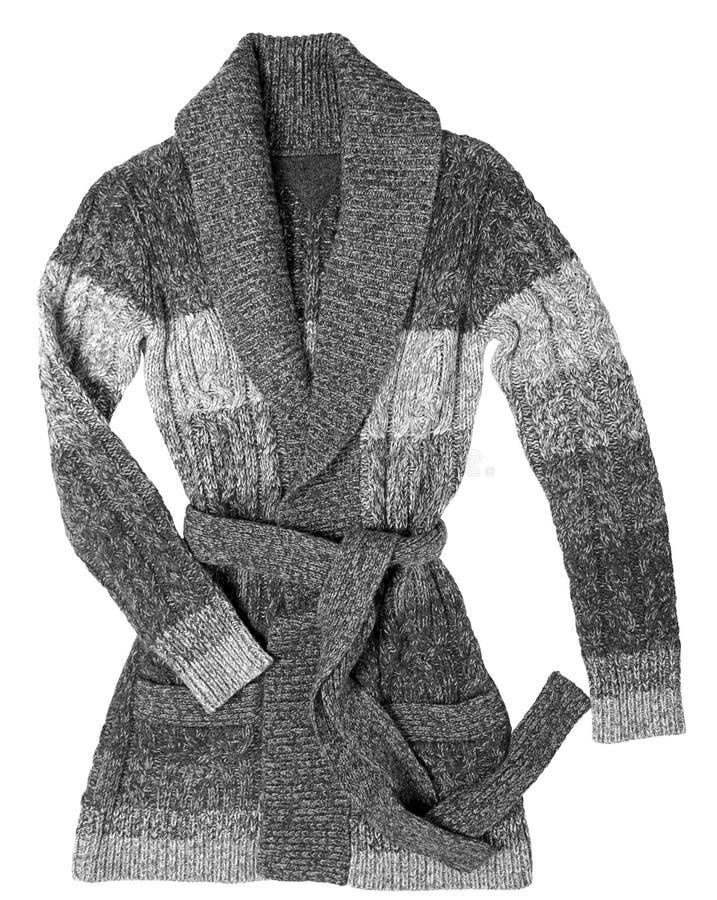 Chaqueta larga de las lanas imagen de archivo libre de regalías