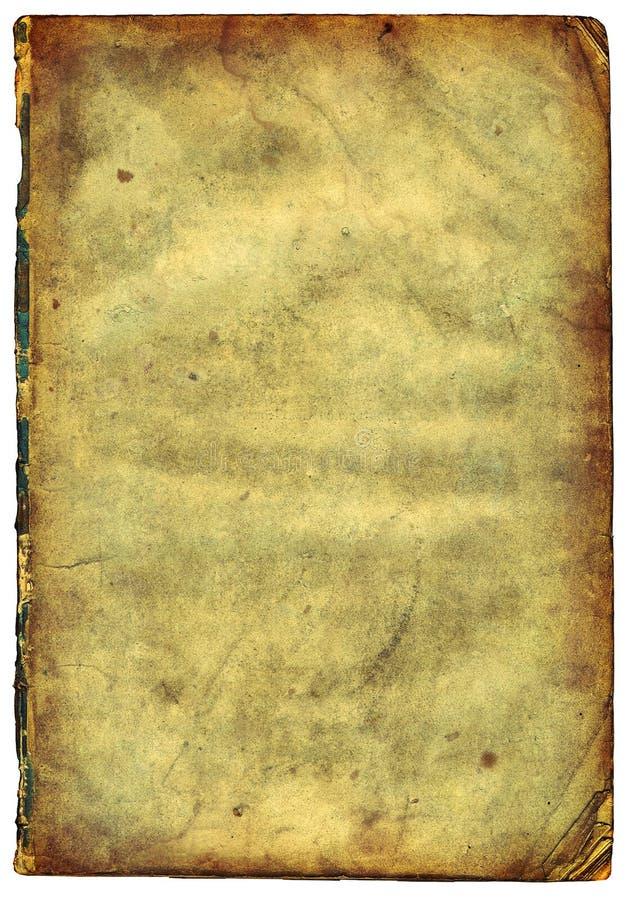 charłackiej krawędzi stary papier scan textured fotografia royalty free