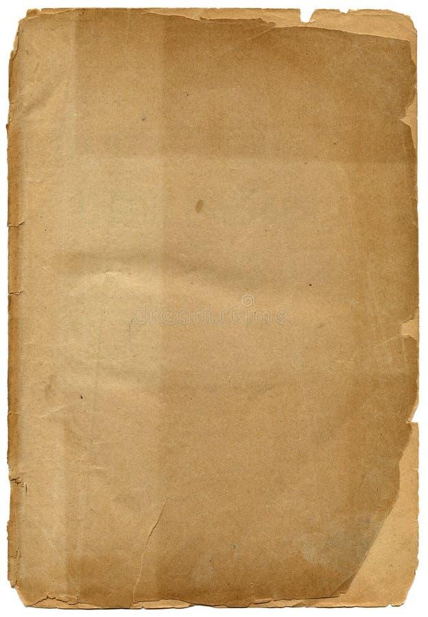 charłackiej stary papier textured krawędzi. zdjęcie royalty free
