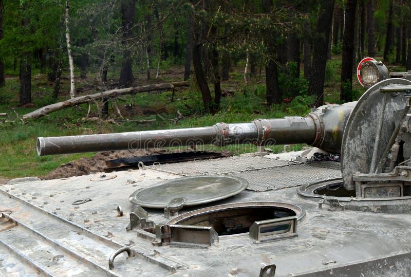 Char d'assaut militaire d'armement, véhicule blindé image stock
