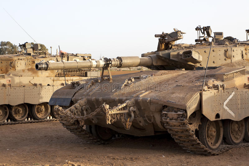 Char de bataille de Merkava Mk 4 Baz photo stock