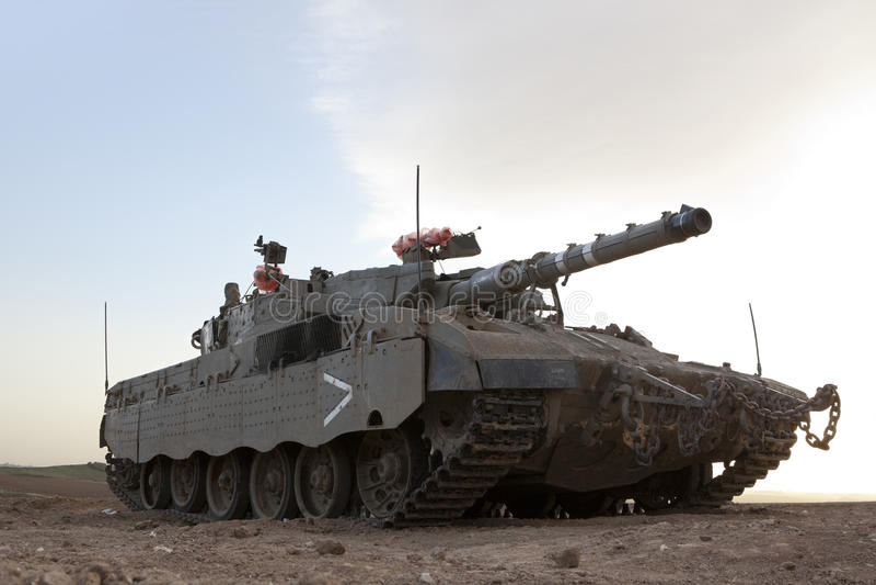 Char de bataille de Merkava Mk 4 Baz photos libres de droits
