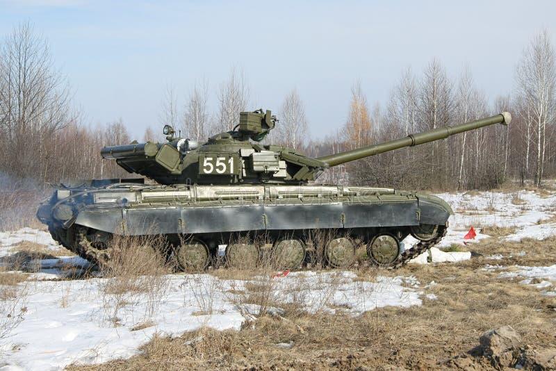 Char de bataille T-64B photographie stock