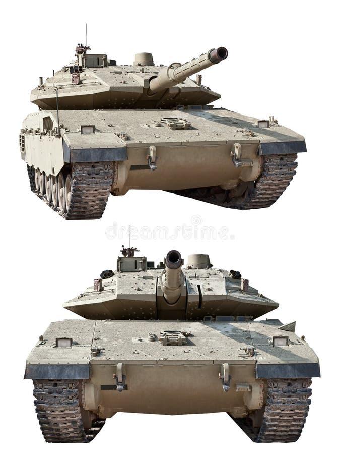 Char de combat israélien Merkava MK3 photographie stock libre de droits