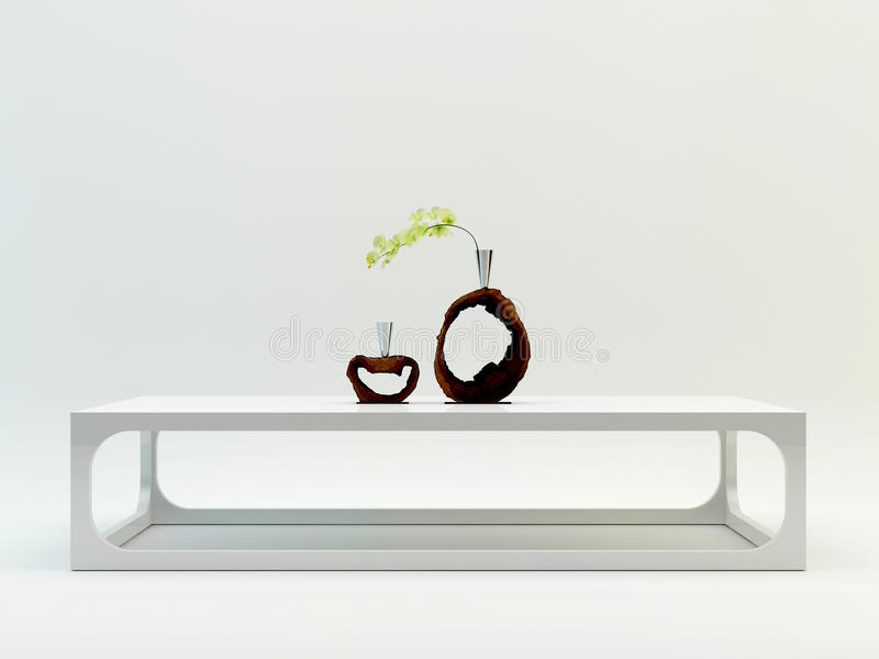 "CHARA †""Koffietafel 01 royalty-vrije stock afbeelding"