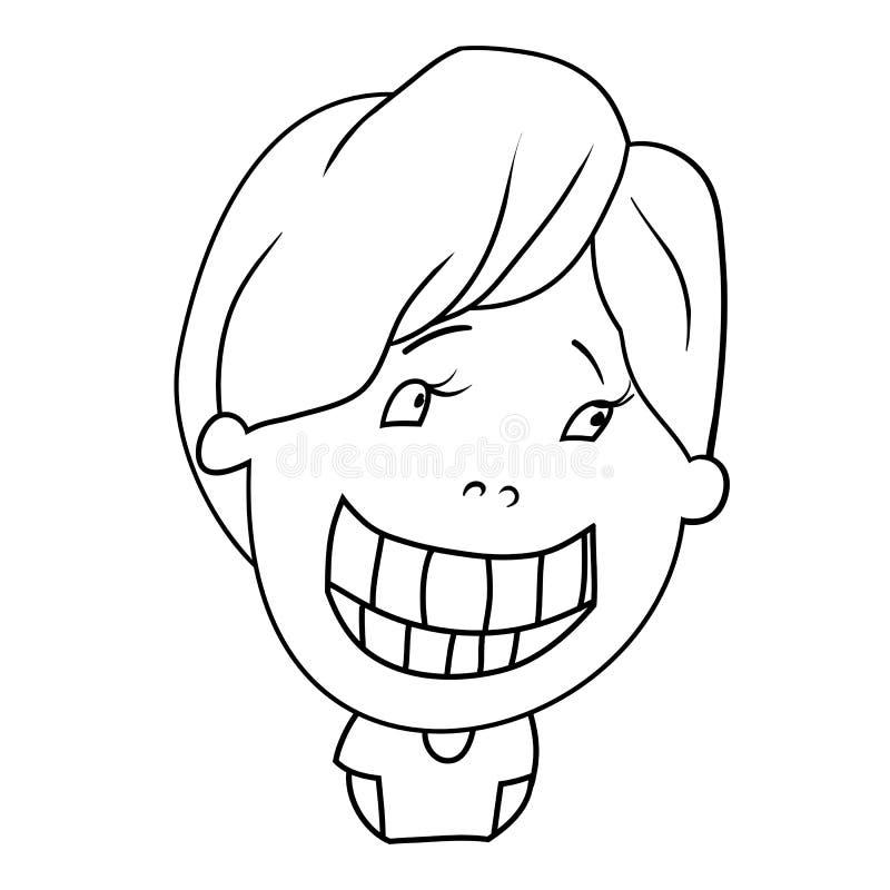 Charackter de la historieta libre illustration