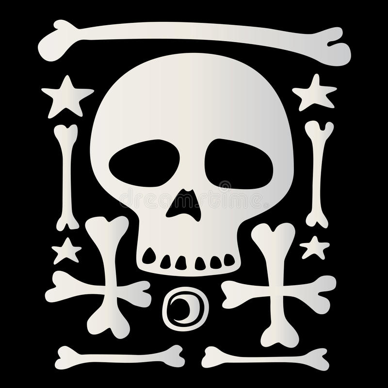 Character Of Death Royalty Free Stock Photo
