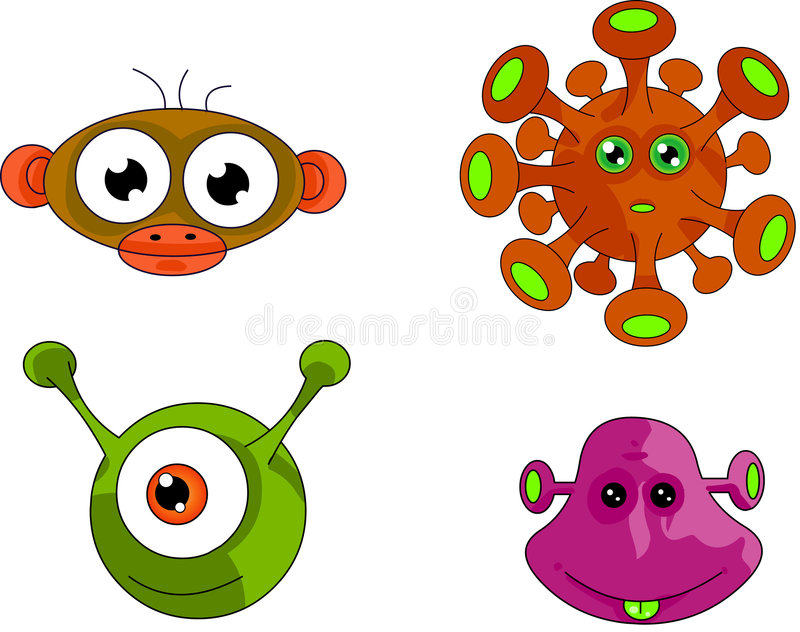 Character Design Collection 003: Aliens vector illustration