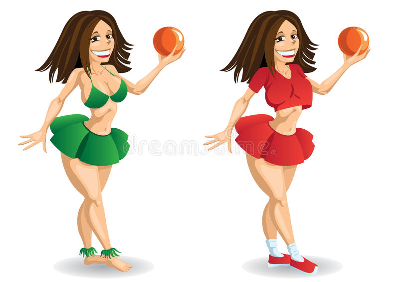 Download Character Girl Royalty Free Stock Image - Image: 30292676